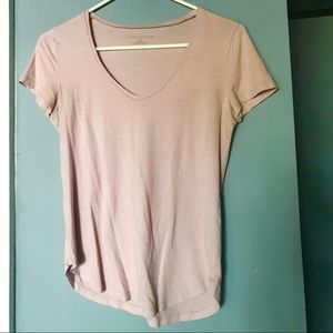 Ann Taylor XS soft short-sleeved tee